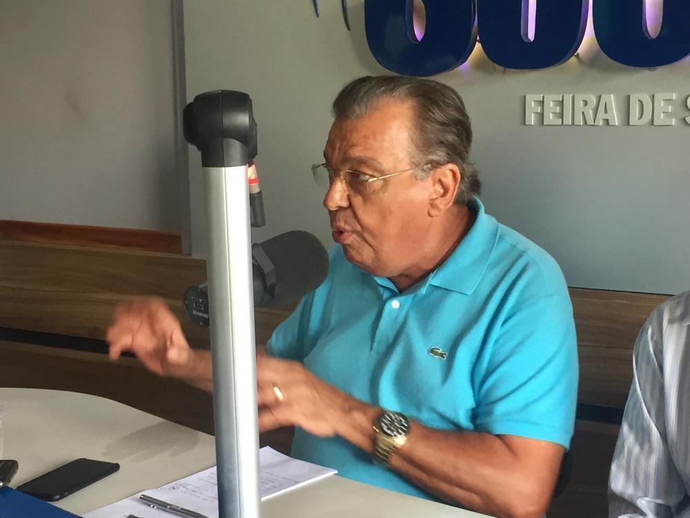 Targino Machado confirma pré candidatura a Prefeito de Feira