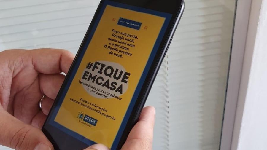 Recife rastreia o celular de 800 mil pessoas para saber quem sai de casa