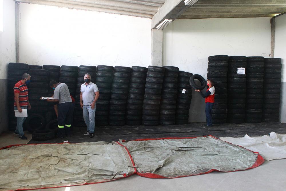 Pirelli faz doação de 1.400 pneus à Bahia para ajudar no combate ao Covid-19
