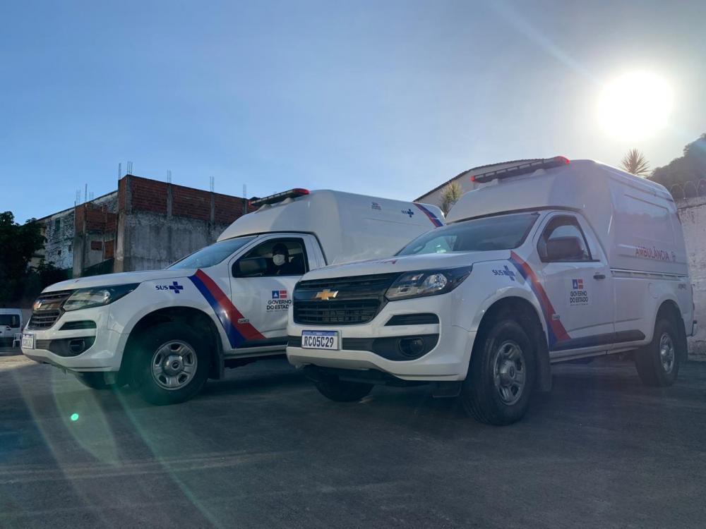 Governo da Bahia entrega mais 26 ambulâncias para reforçar combate ao coronavírus no interior
