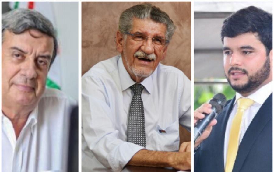 Colbert, Hérzem e Hagge na disputa pelo comando do MDB na Bahia
