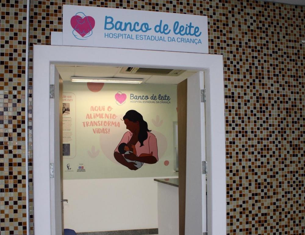 Hospital Estadual da Criança entrega novo espaço para Banco de Leite Humano