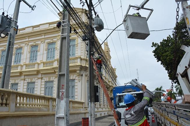 Dia 29 acontece leilão para concessão dos serviços de iluminação publica de Feira
