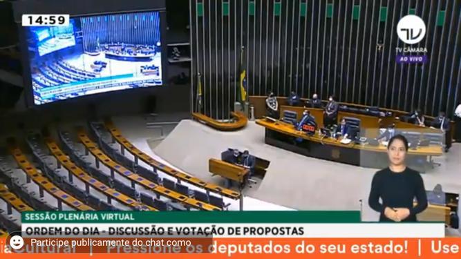 Lei de Emergência Cultural é aprovada na Câmara dos Deputados