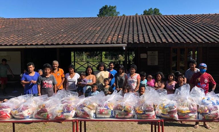 Funai já entregou mais de 90 mil cestas de alimentos a famílias indígenas