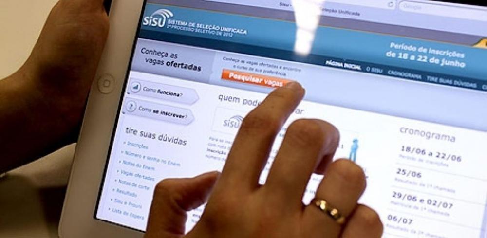 Sisu tem 814,47 mil inscrições. Resultado da primeira chamada sai terça-feira