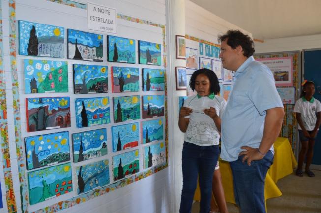Criatividade, beleza e colorido na Mostra de Artes da Escola Antônio Borja, do distrito de Maria Quitéria