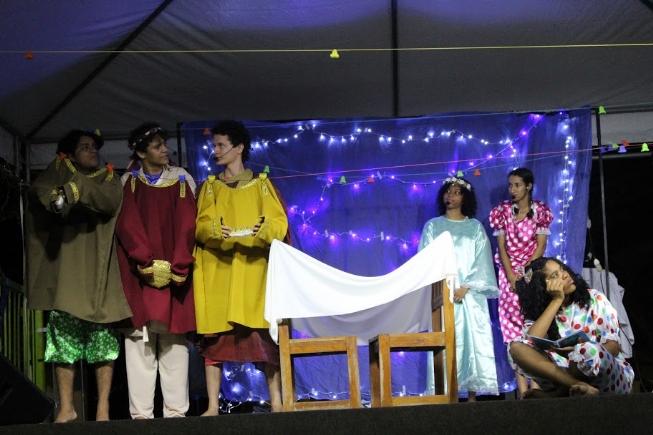 Fundação Egberto Costa proporcionou espetáculos teatrais com mensagens natalinas na cidade e zona rural
