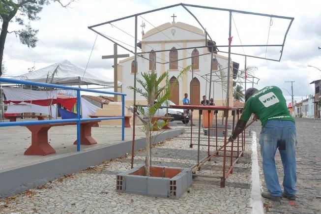Tiquaruçu está sendo preparado para bicentenária Festa de Reis