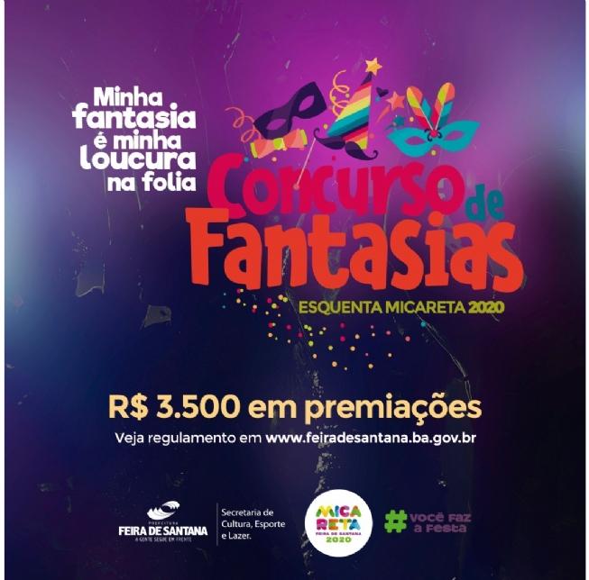 Aberta inscrição para Concurso de Fantasia no Esquenta Micareta