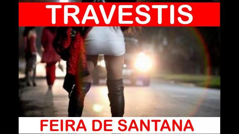 Travestis na noite de Feira de Santana