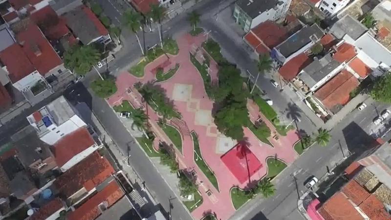 Imagens aéreas de Feira de Santana, conheça o bairro da Kalilândia