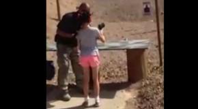 Garota de 9 anos mata seu instrutor de tiro em acidente