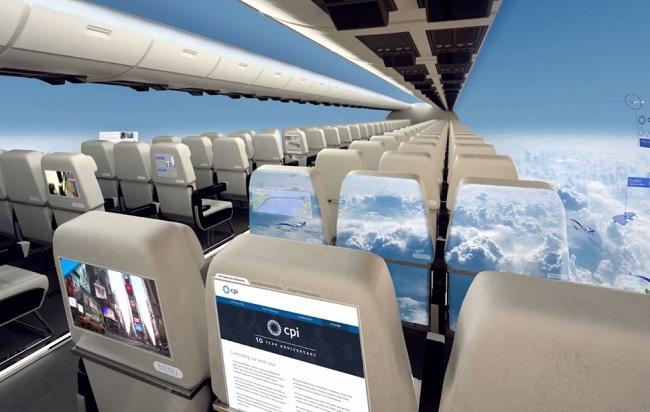 Companhia britânica vai lançar aeronave sem janelas